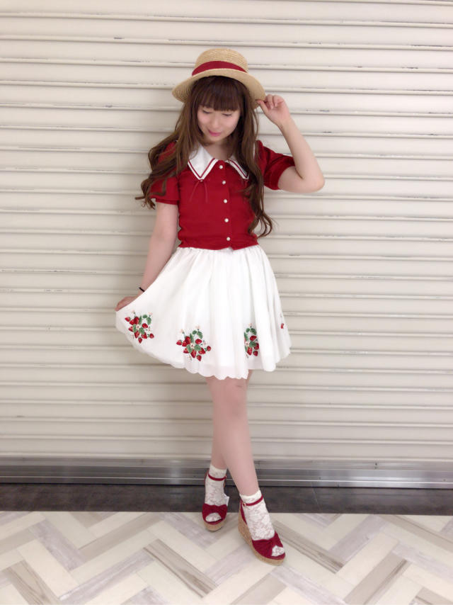 \♥︎/池袋店:♡strawberry×redでcute code♡