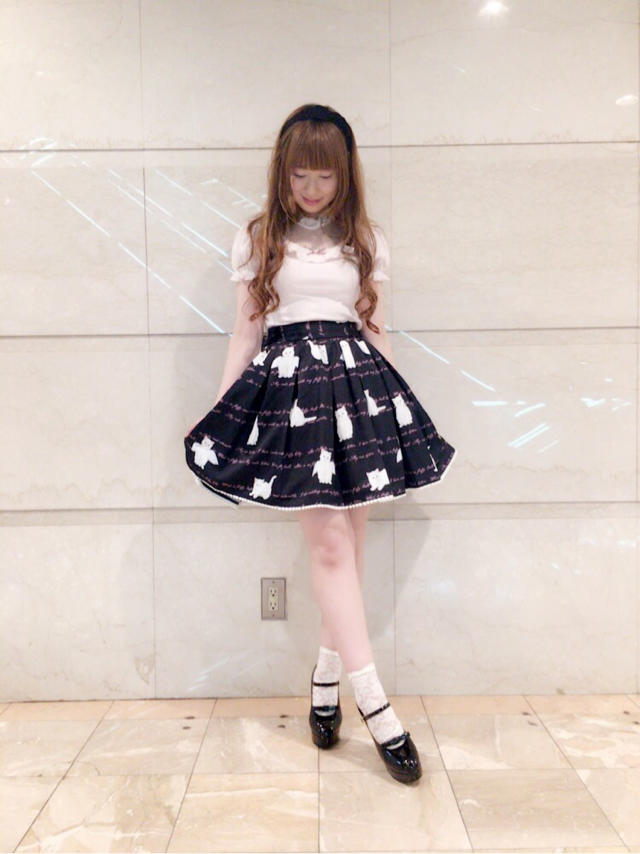 \♥︎/池袋店: Angel Cat柄でlovely code♡