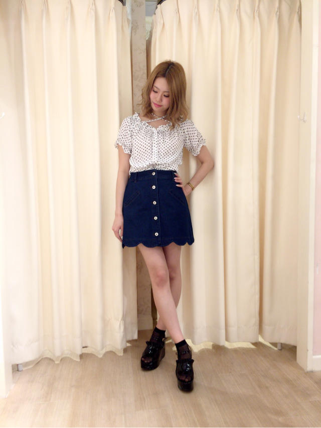 天王寺MIO♡おすすめのdenim coordinate