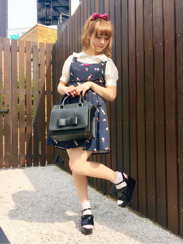 mayu♡popでcuteなVintage Candy柄ワンピース♡