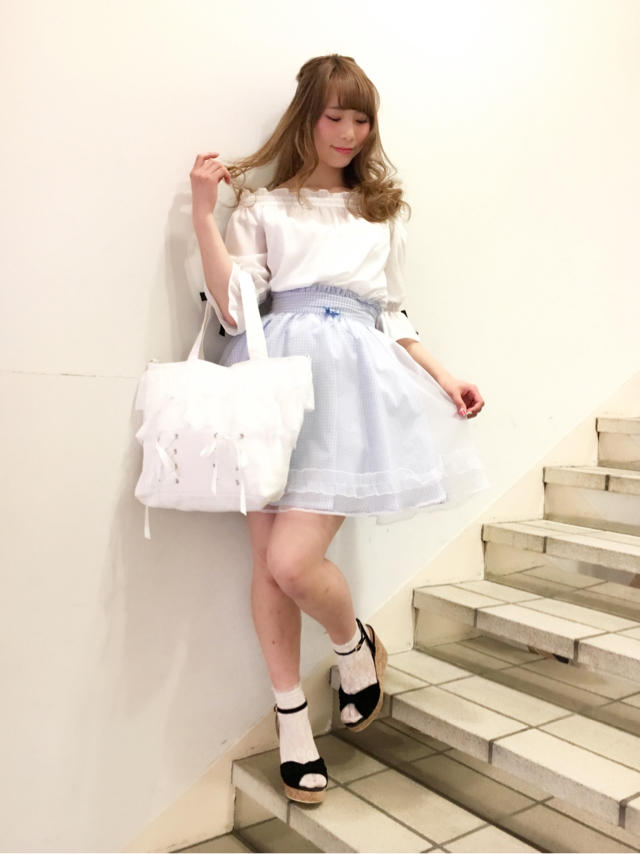 mayu♡爽やかgirlyなcoordinate♡