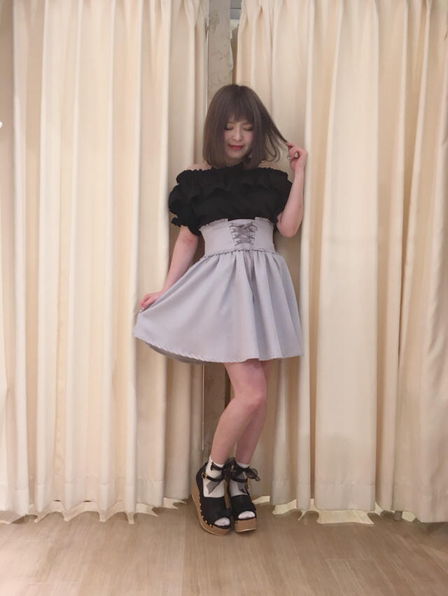 天王寺MIO♡Black×grayのgirly code...♡