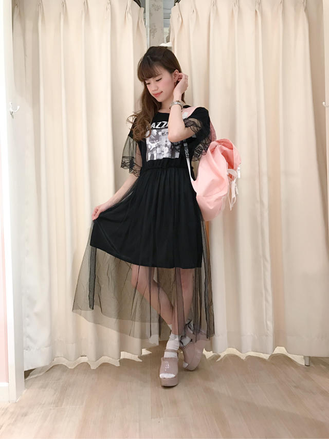 天王寺MIO♡HardなCasual Black coordinate...✩゚✧*