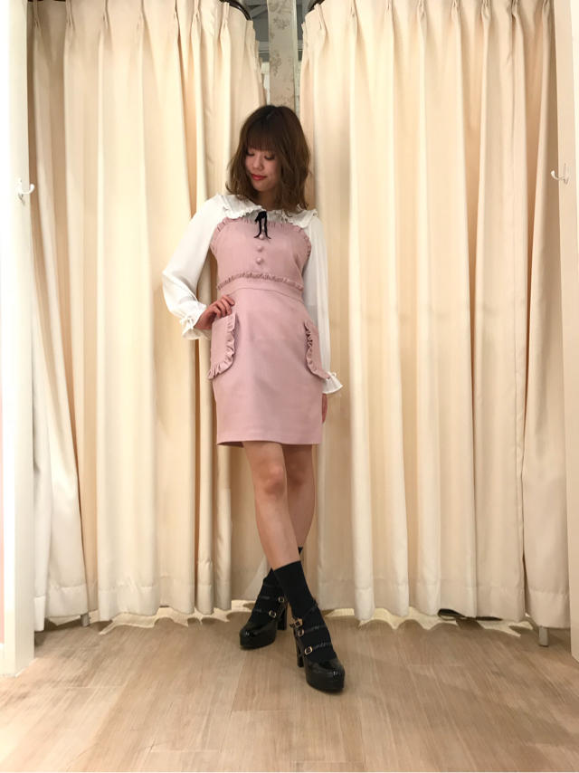 天王寺MIO♡春らしいgirly coordinate♡