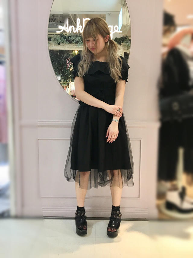 原宿店♡大人all black coordinate♡