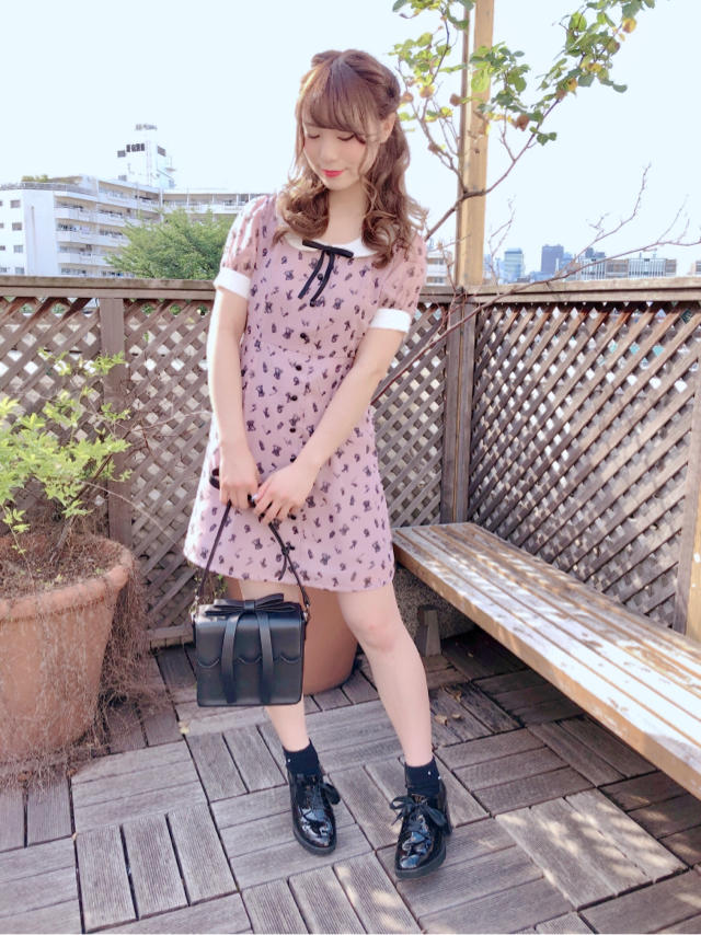 原宿店♡王道girly coordinate♡