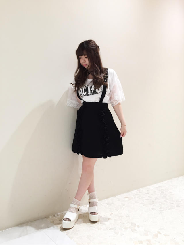 Black×White♡casual coordinate